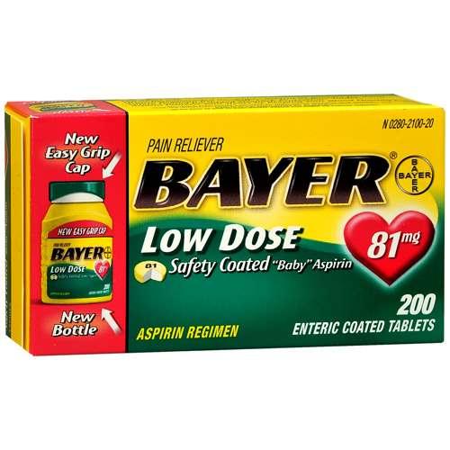can ibuprofen be taken with low dose aspirin