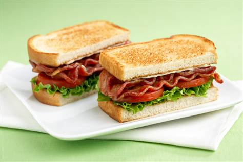 ... with you guys today is a different BLT. Not bacon, lettuce and tomato