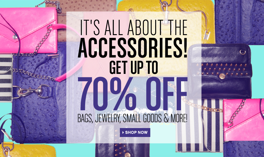 Bluefly Accessories Sale from TheOPLife