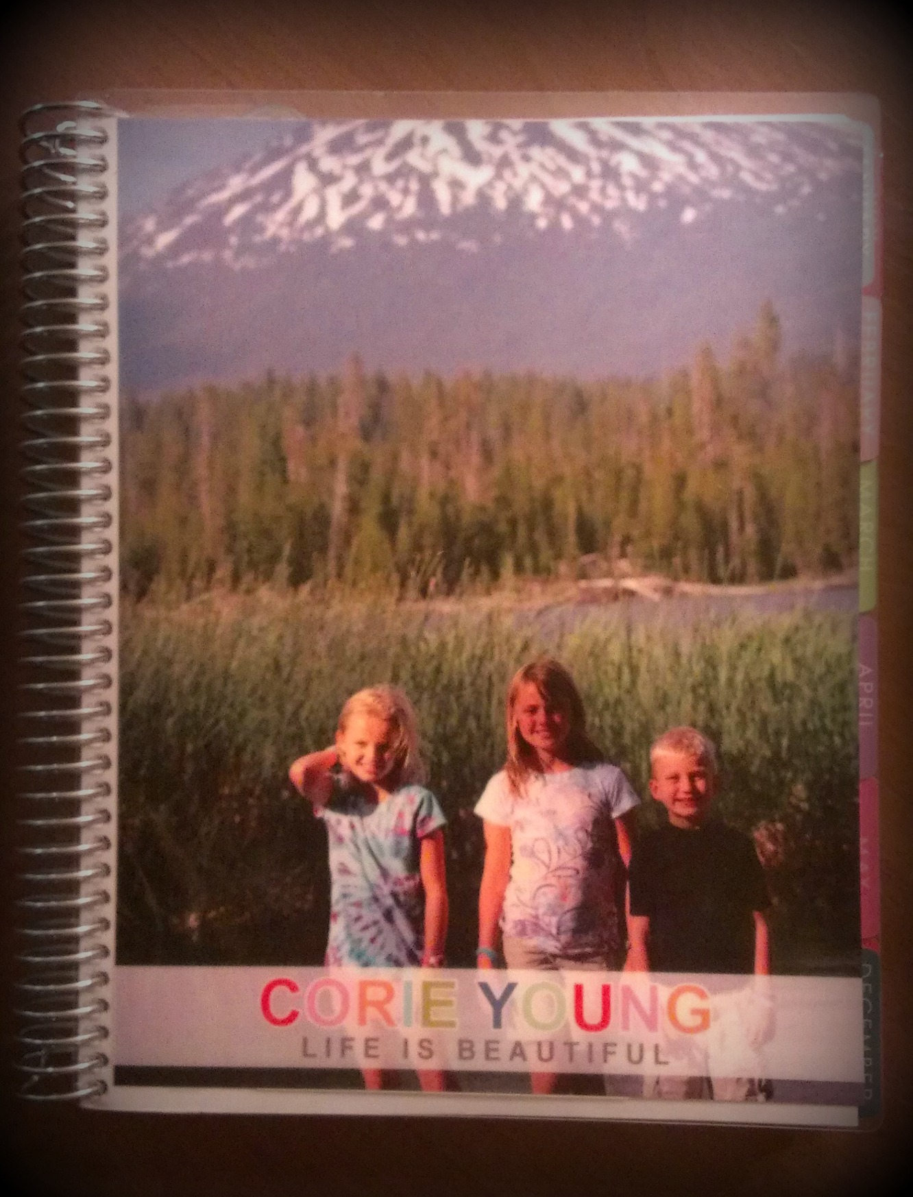 Tiny Prints Personalized Planner