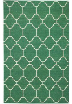 Emerald rug