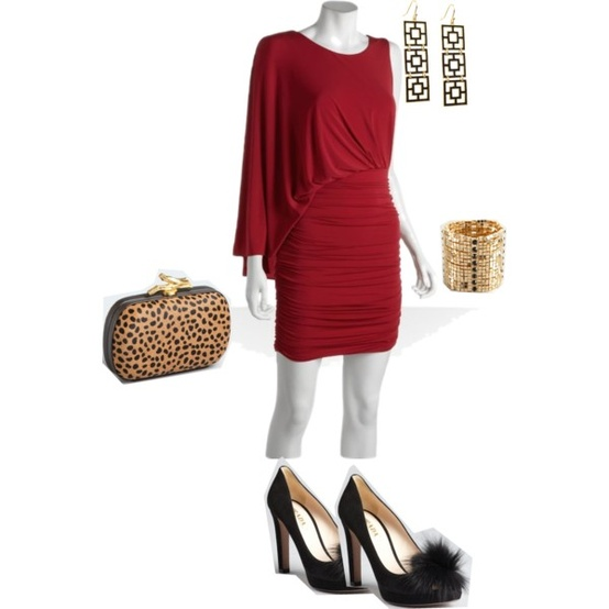 Lady in red. theoplife