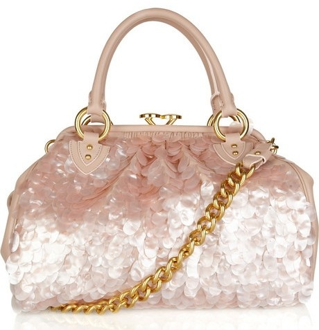 Pink marc jacobs sequin stam