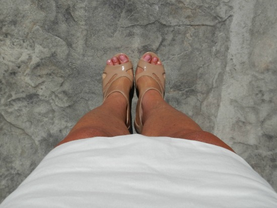 Shoes summer skirt outfit