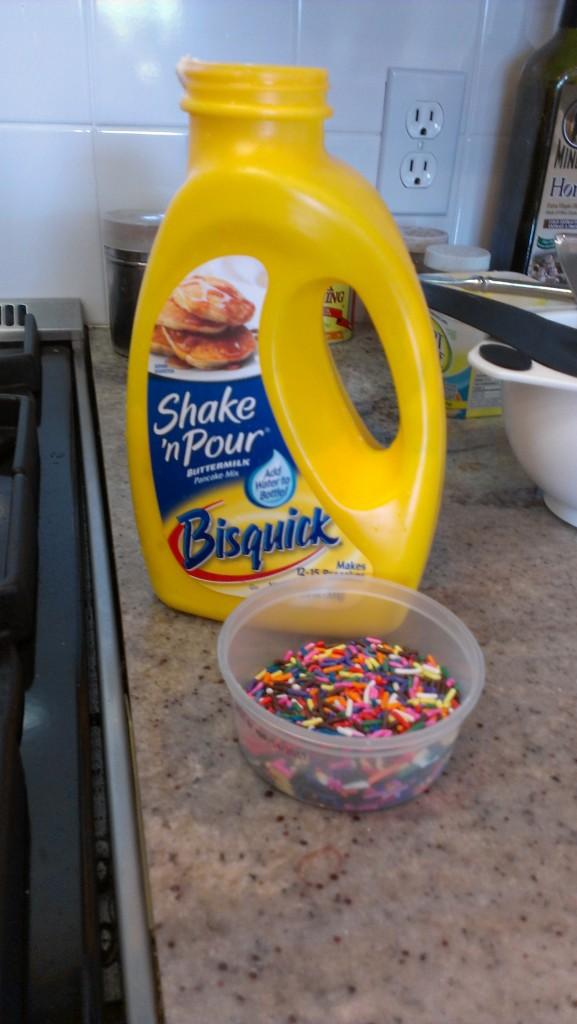 Confetti Pancakes