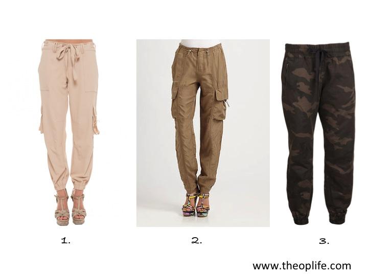 Jogger Cargo Pants, The OP Life