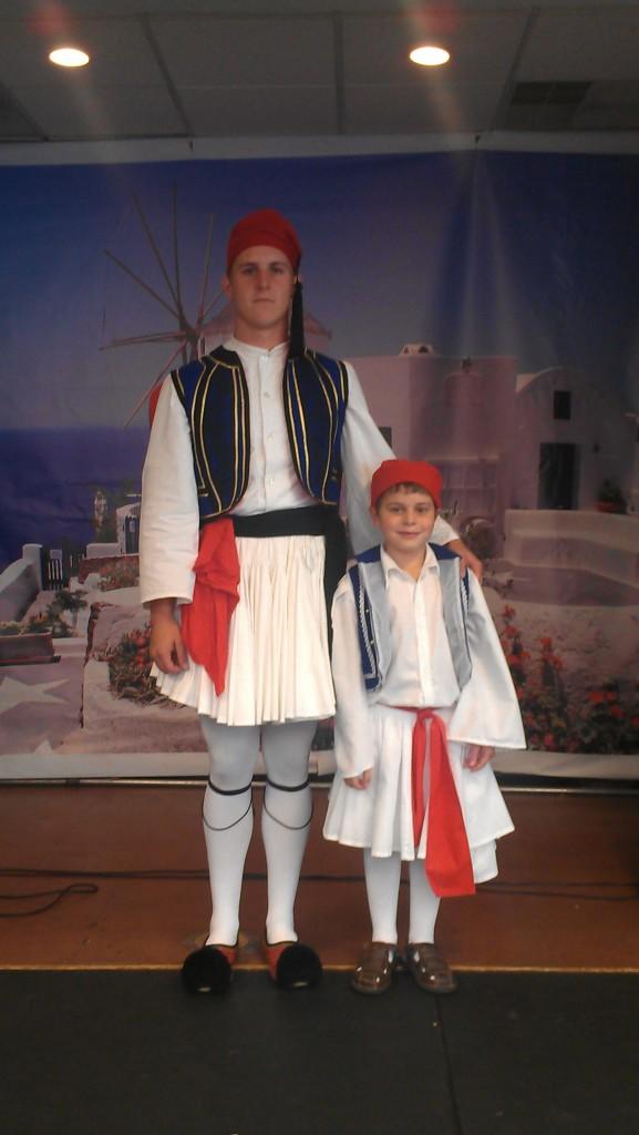 Evzones Matthew and Kosta