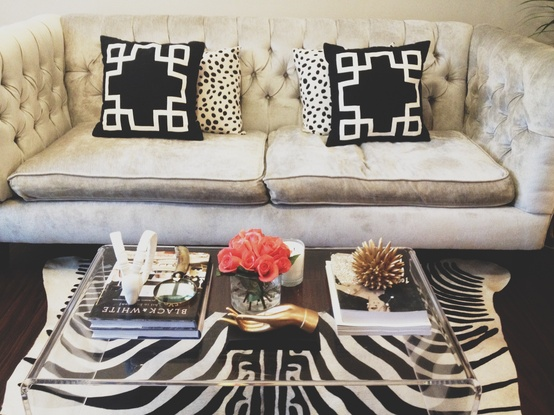 How To Style A Coffee Table Gorgeous With Acrylic Lucite Coffee Table Pictures