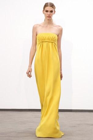 yellow derek lam