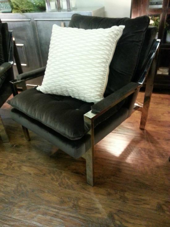 Velvet Chair Emory Anne Interiors