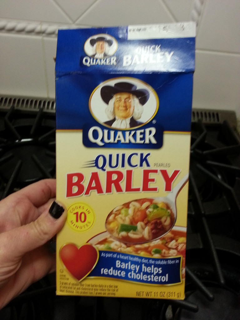 Quaker Quick Barley Feat Recipe on the blog