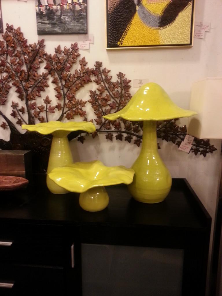 Retro Mushrooms - the op life