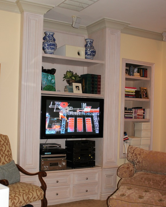 Built ins family room The OP Life