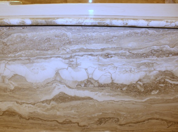 Travertine Tub