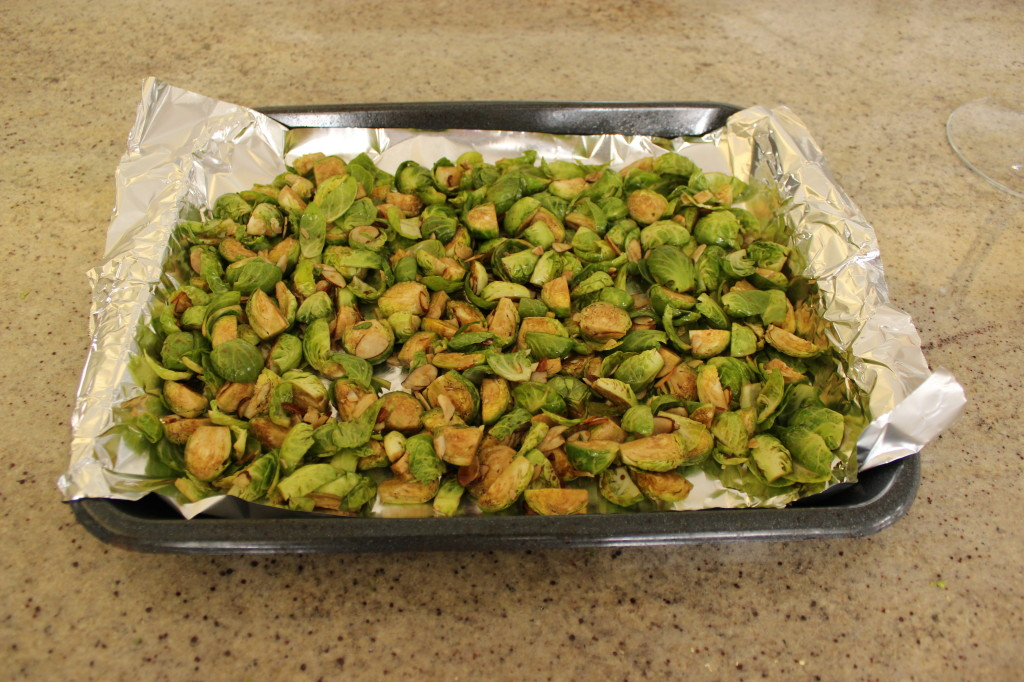 Roasted Brussel Sprouts 101 - The OP Life 3