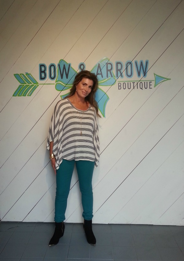 Bow and Arrow Emerald Jeans