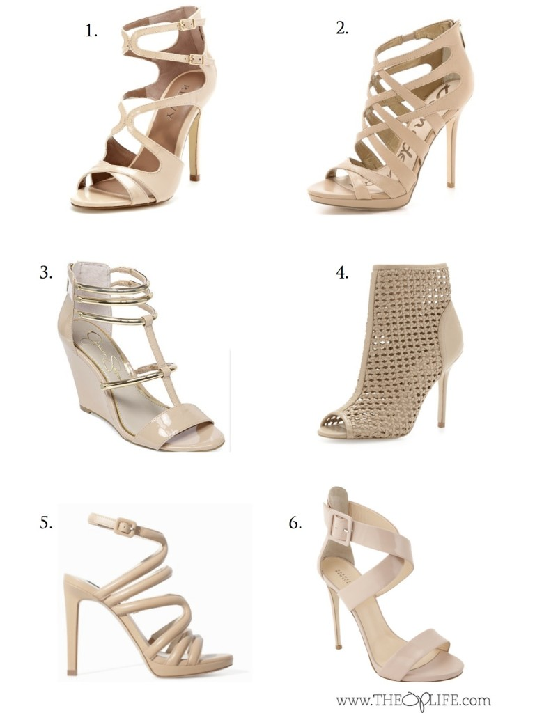 Nude Sandal Roundup - The OP Life