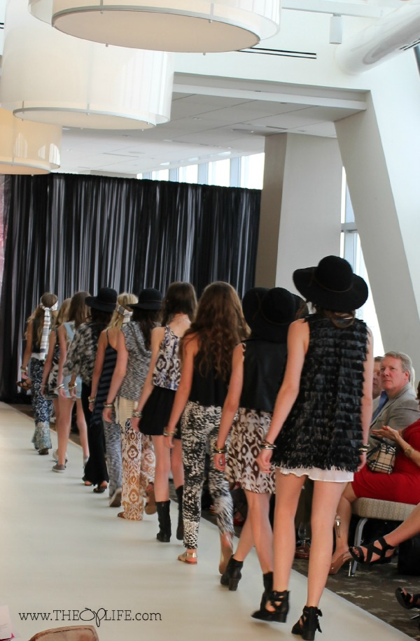 Isabella Rose Taylor Back View Finale Oklahoma Fashion Week - The OP Life