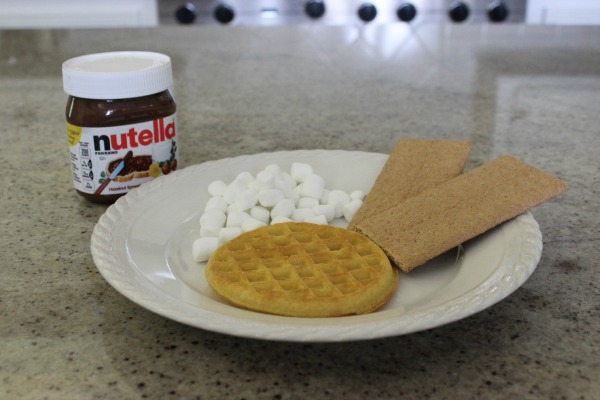 Smores Waffles - The OP Life