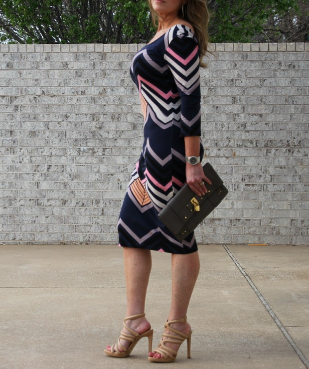 Target Striped Retro Straight Dress 3 - The OP Life