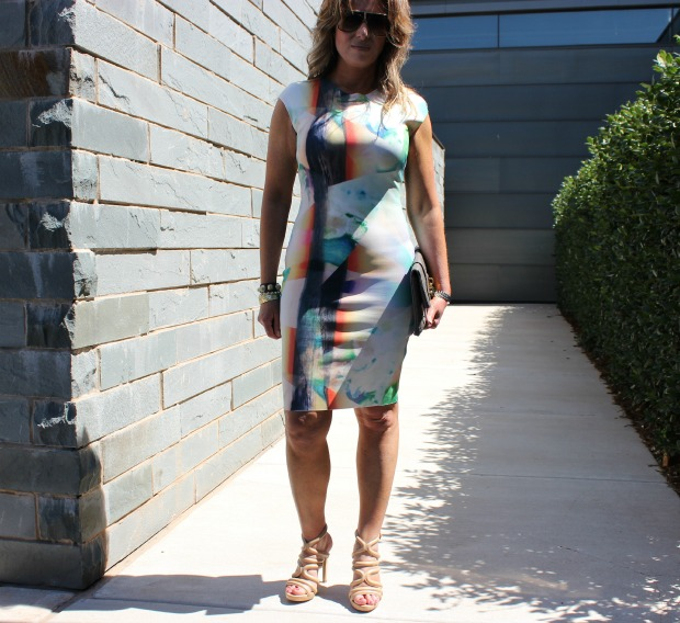 Zara Neoprene Dress 2 - The OP Life