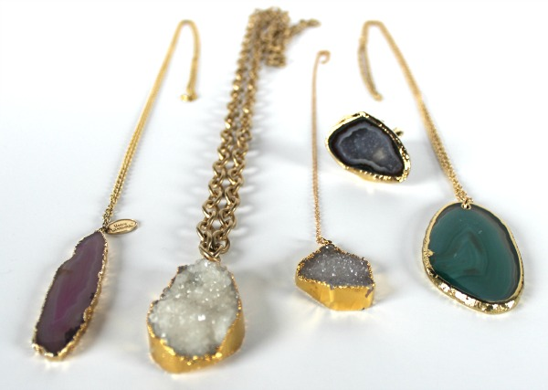 Agate and Geode Jewelry - The OP Life