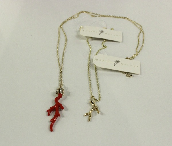Bow and Arrow Coral Neckalce Shira Melody - The OP Life