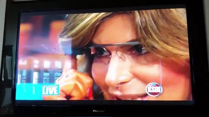 Talking Google Glass on Oklahoma Live on KSBI 52 with Irene Gianos and Patrick Allmond