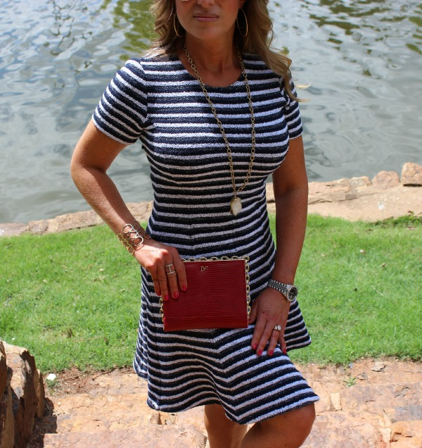 Striped Theory Dress 2 CK The OP Life