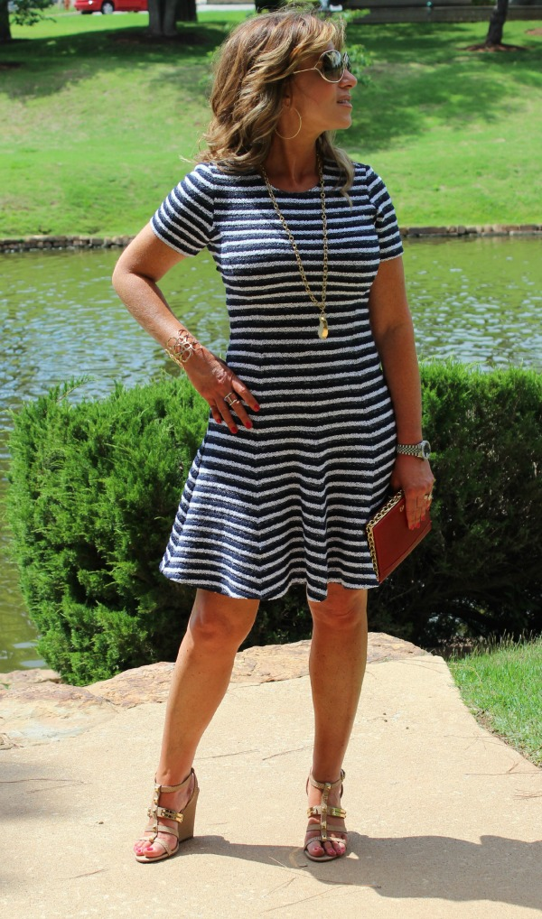 Striped Theory Dress CK 3 The OP Life