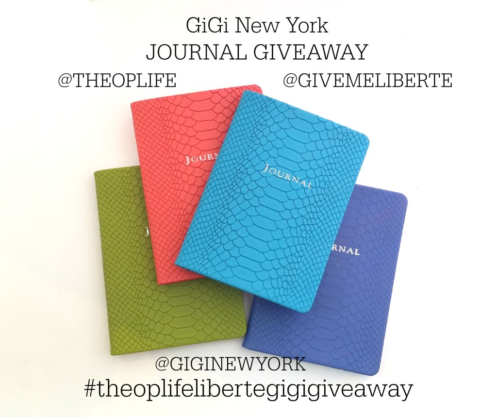 Liberte Giveaway GiGi Journal on The OP Life