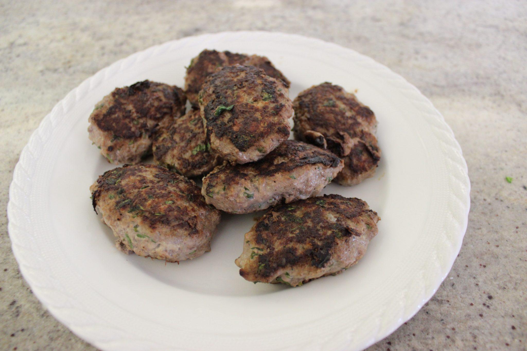 RECIPE The OP Life Greek Beef Patties 5