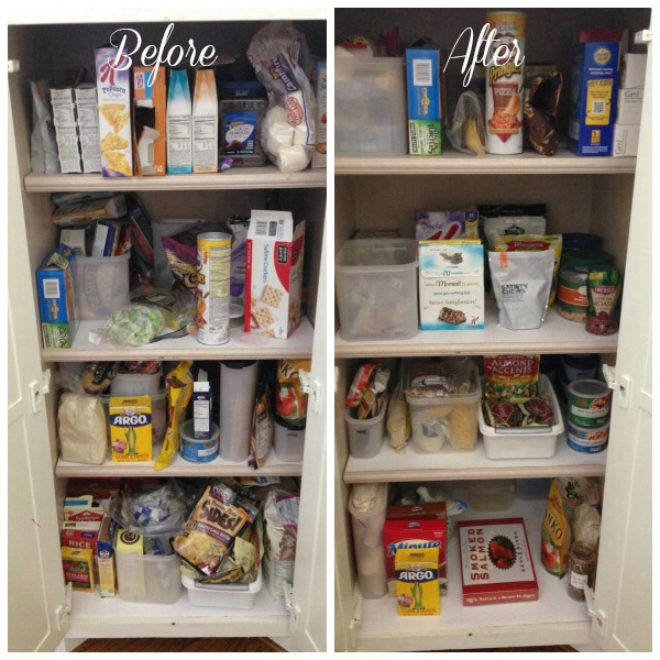 Before After Pantry The OP Life