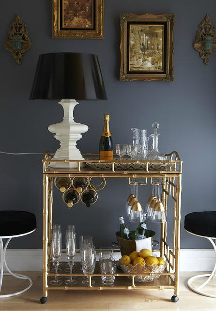 Greys, Grays and Golds in the Home