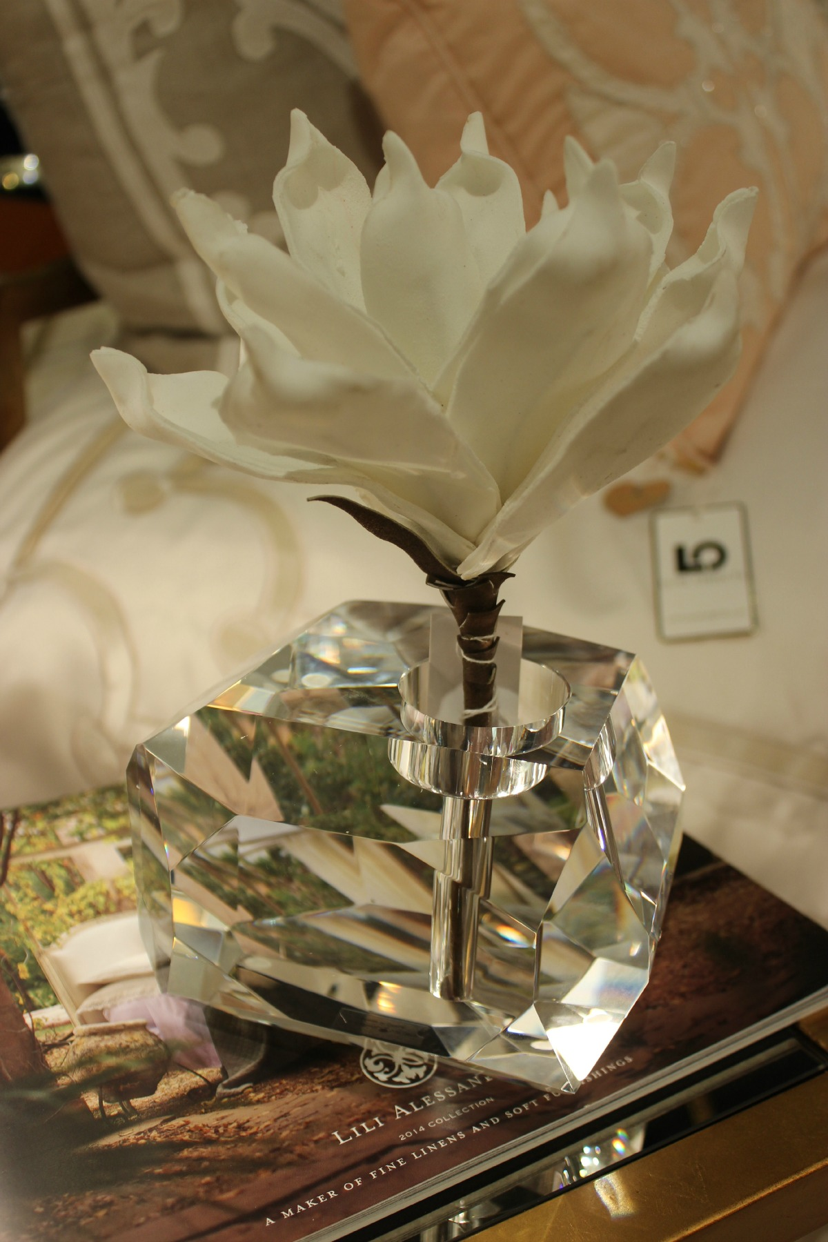 Crystal Bud Vase Luxe Objects The OP Life