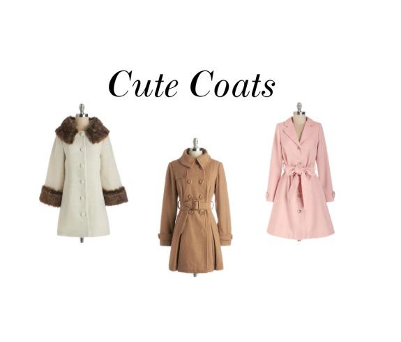 Cute Coats Modcloth The OP Life