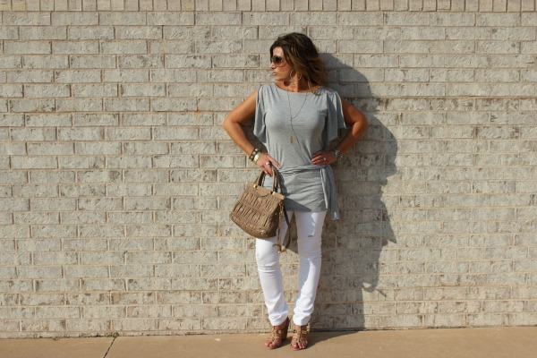 Shop Your Closet White Jeans Fall The OP Life