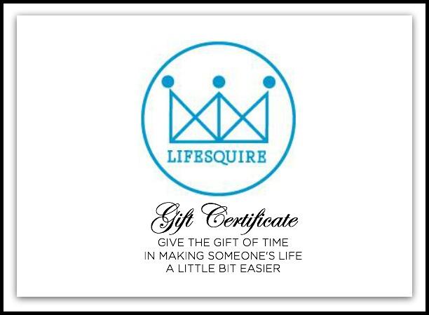 Lifesquire Gift Certificate