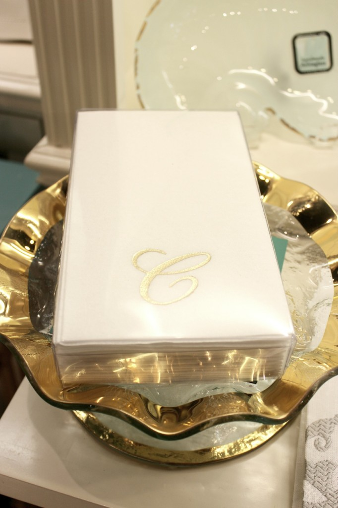 Monogram Towelettes Luxe Objects The OP Life