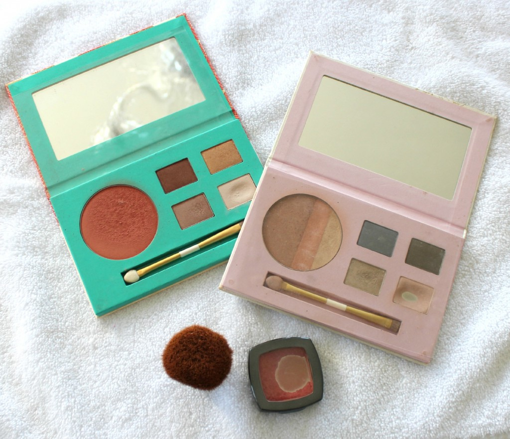 My Arbonne Palettes and blush The OP Life