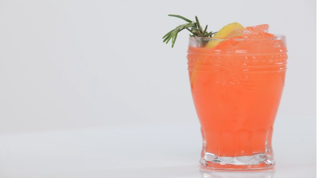 Fuzzy Friday:  Holiday Tipsy Spritzer