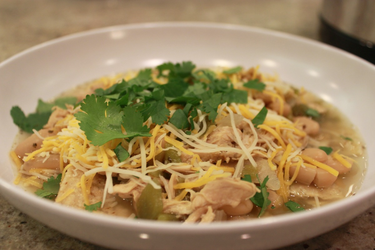 Light White Chicken Chili