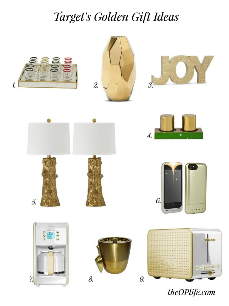 Target Gold Gift Ideas The OP Life