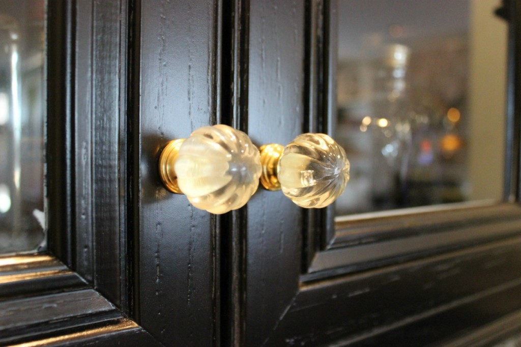 Glass Brass Gold knobs The OP Life