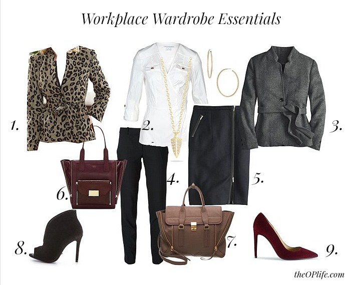 Workplace Wardrobe Essentials The OP Life