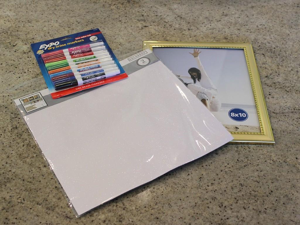 DIY Dry Erase Board The OP Life