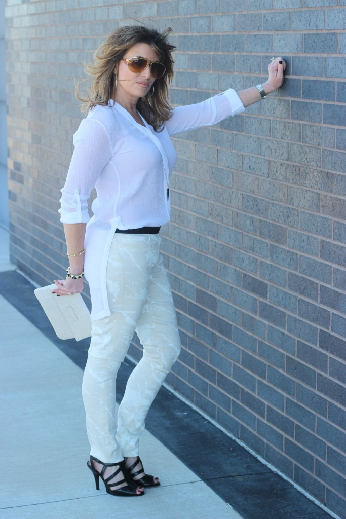Shop Your Closet: White on White