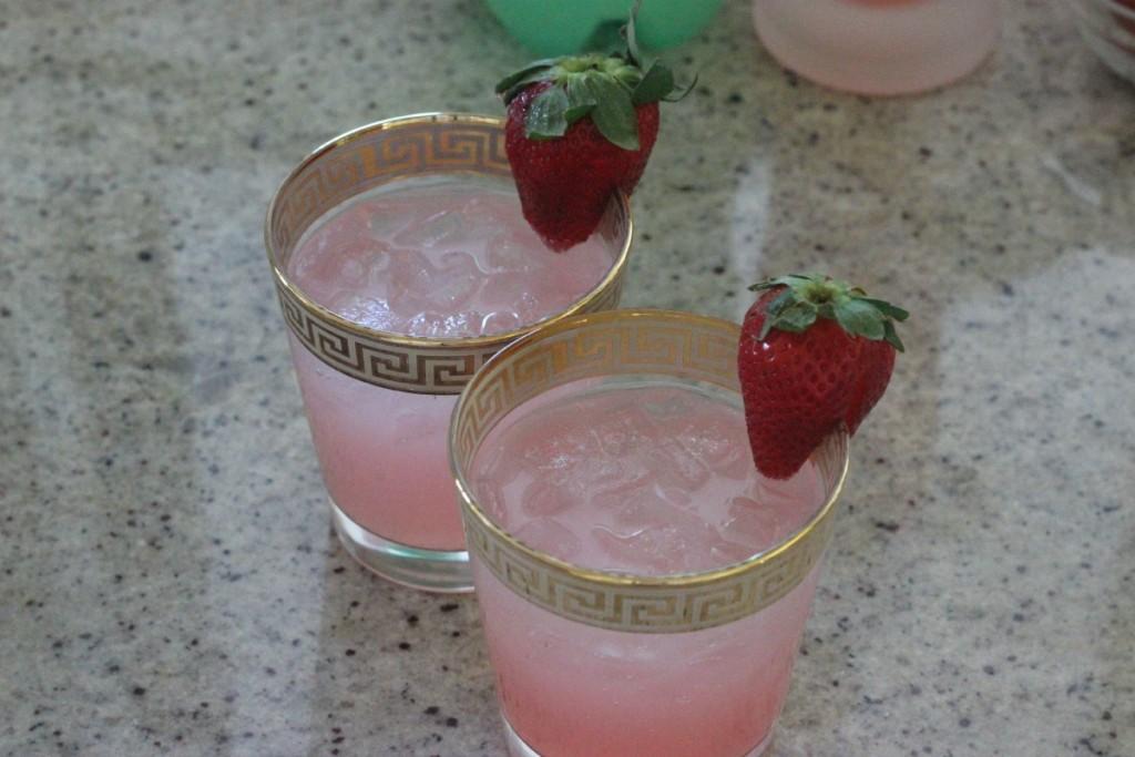 Valentine's Day Pink Drink Idea