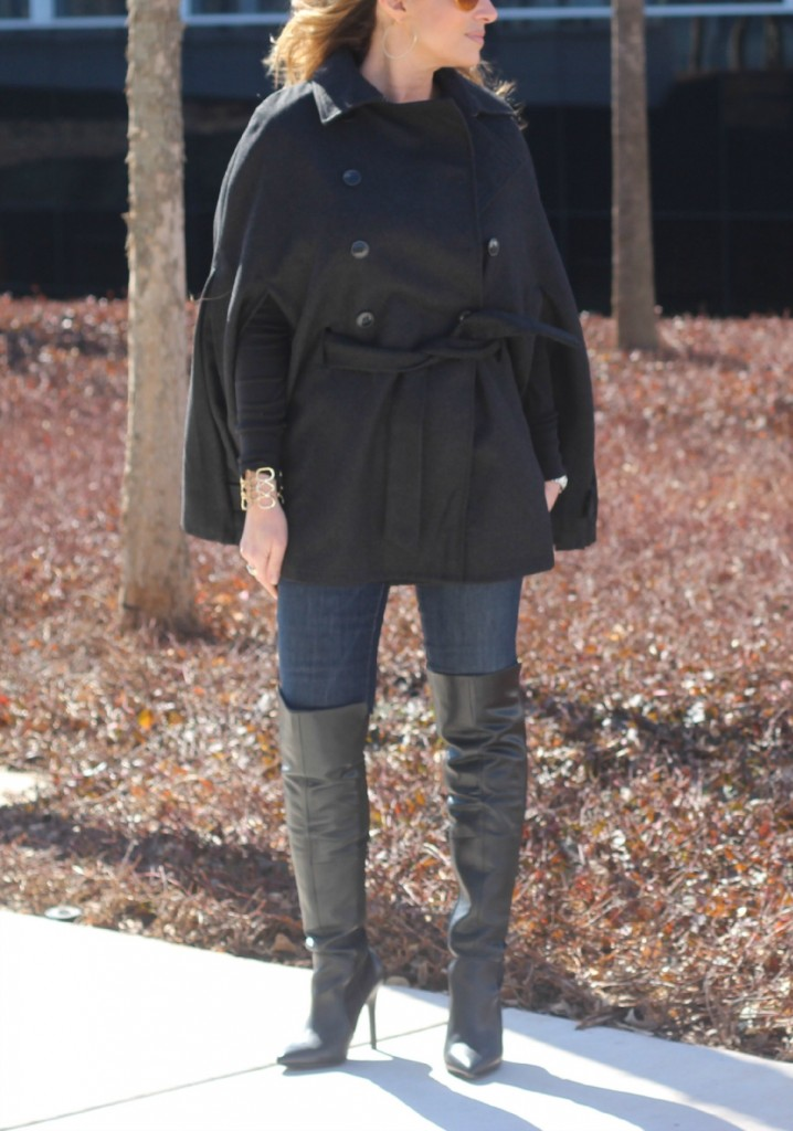 Over the knee boots with cape The OP Life 3