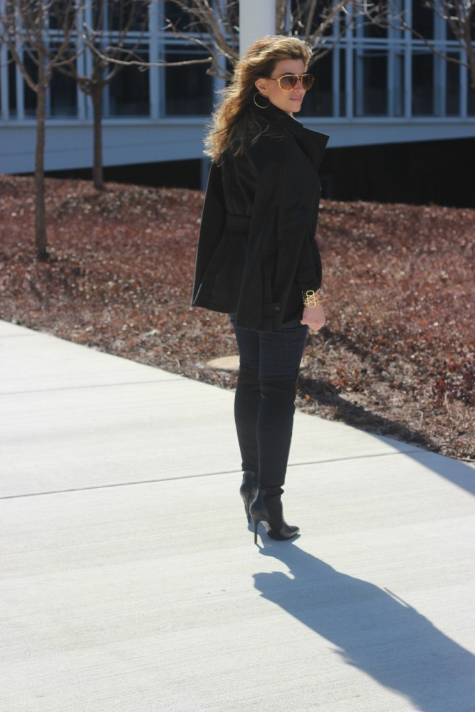 Over the knee boots with cape The OP Life 6